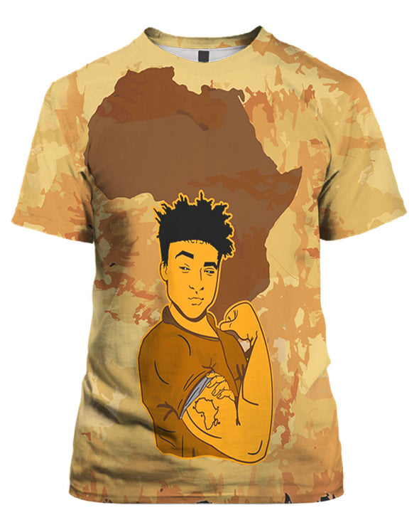 Powerful Strong Black Men Pride All Over Apparel