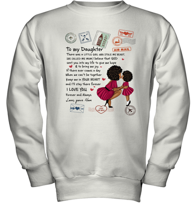 Stamps Whenever You feel - Modern Mother To Little Daughter Youth Sweatshirt