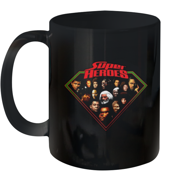 Human Of African They Are Super Heroes Mug