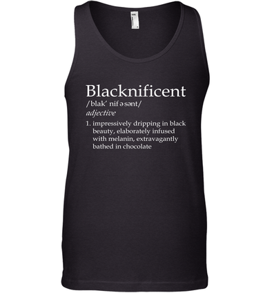 Blacknificent Definition Tank Top