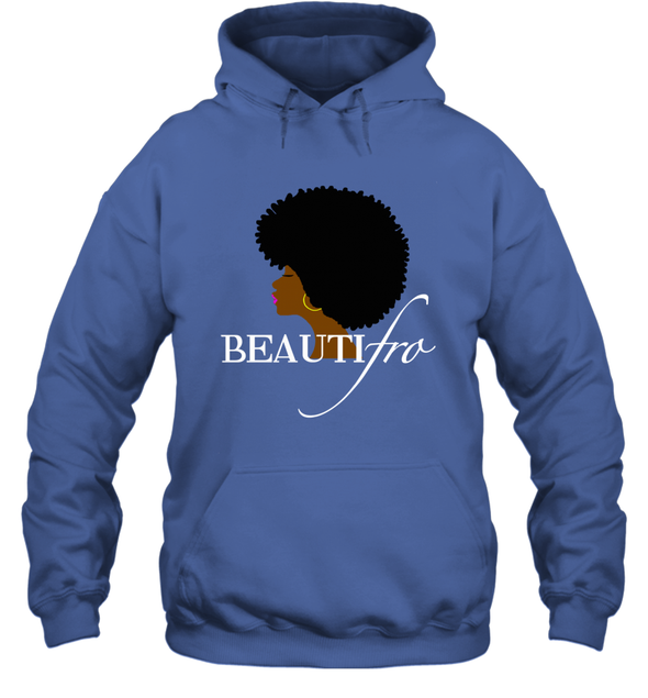 Black Women Art - Afro Beauty Hoodie