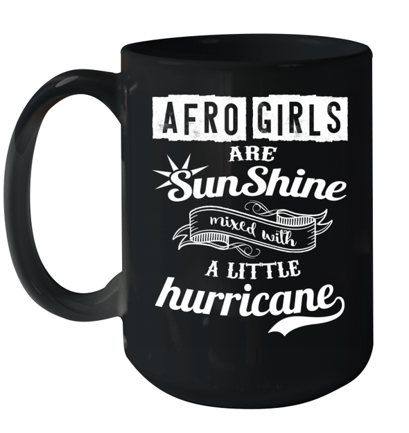 Black Girls Are Sunshine Mug