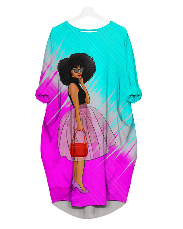 Black Women Art All Over Apparel Daily Down The Street Style