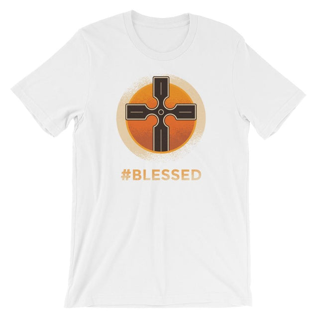 #blessed Shirt - Christian T-Shirt | Adult Unisex - White / Xs