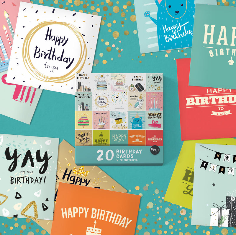 5 Reasons Why People Buy Birthday Cards In Bulk.