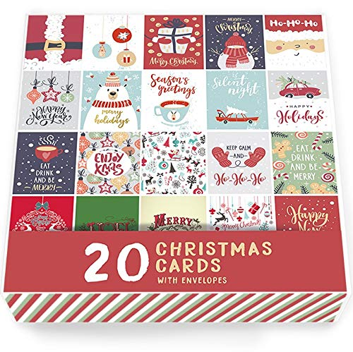 20 x Christmas Cards Multi Pack Volume 1