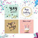 Pack of Birthday Cards | 20 Cards + 20 Envelopes | Suitable for all Volume 1