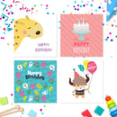 20 x Birthday Cards Multi Pack For Kids Volume 1