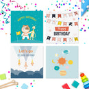 20 x Birthday Cards For Kids | Includes Envelopes | Ideal For Parents Vol 2