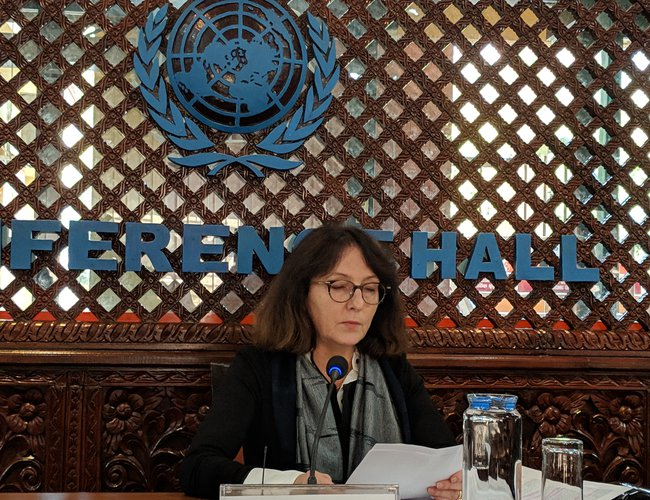 UN Special Rapporteur is pushing the Nepalese Government to eliminate gender-based violence