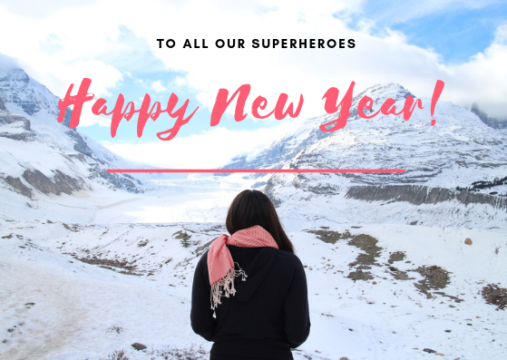 Happy New Year all our Superheroes!