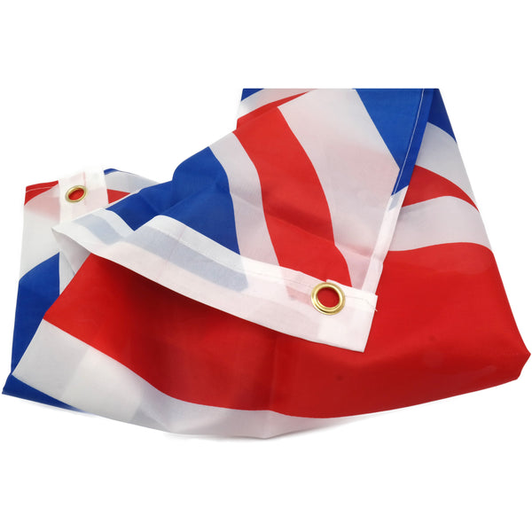 Union Jack Flag Large Size Flagpole 6ft x 9ft