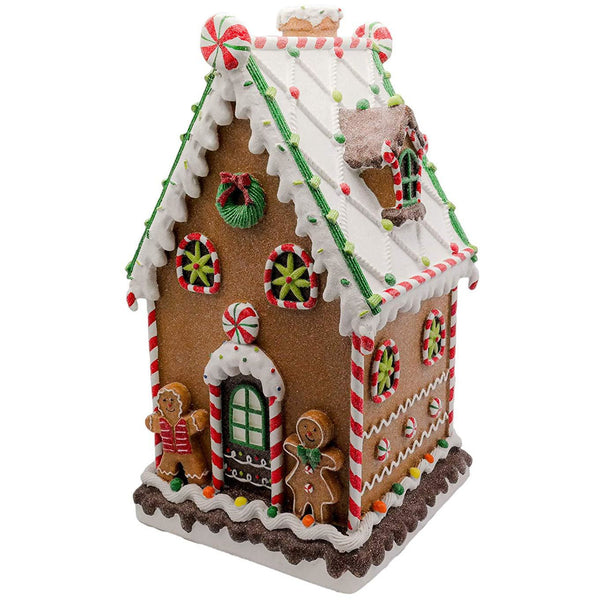 Roll over image to zoom in Large Decorative Festive Gingerbread House 50cm
