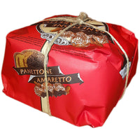 Panettone Amaretto Hand Wrapped 750g
