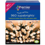 Premier Dec 960 Multi-Action Super-bright LED String Lights
