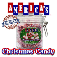 America's Christmas Candy Gift Jar