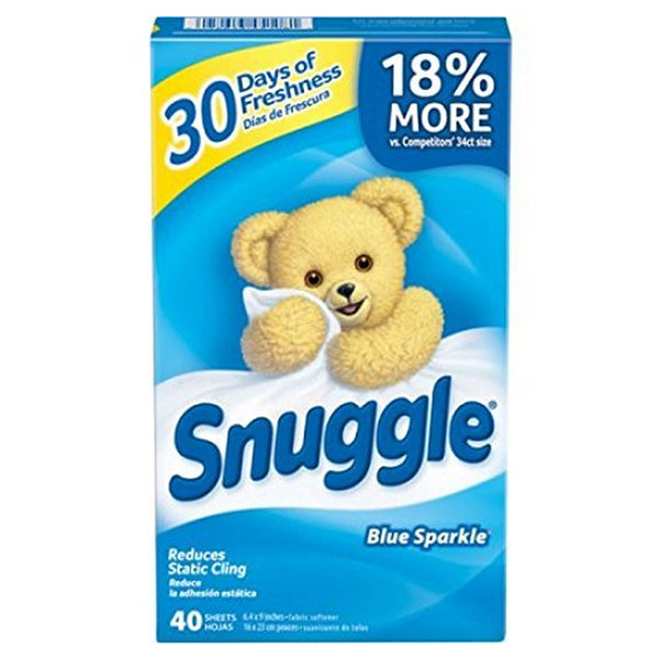 Snuggle Fabric Conditioner Tumble Dryer Sheets (40 Sheets)