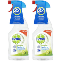 2 x Dettol Anti Bacterial Surface Cleanser 750ml x 2