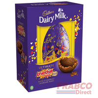Cadbury Dairy Milk Crunchie Ultimate Easter Egg with Crunchie Bits Shell
