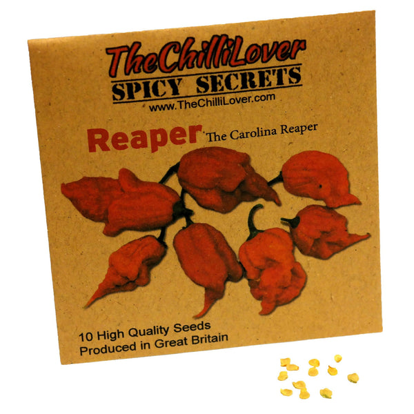 10 Hot Pepper Seeds Carolina Reaper