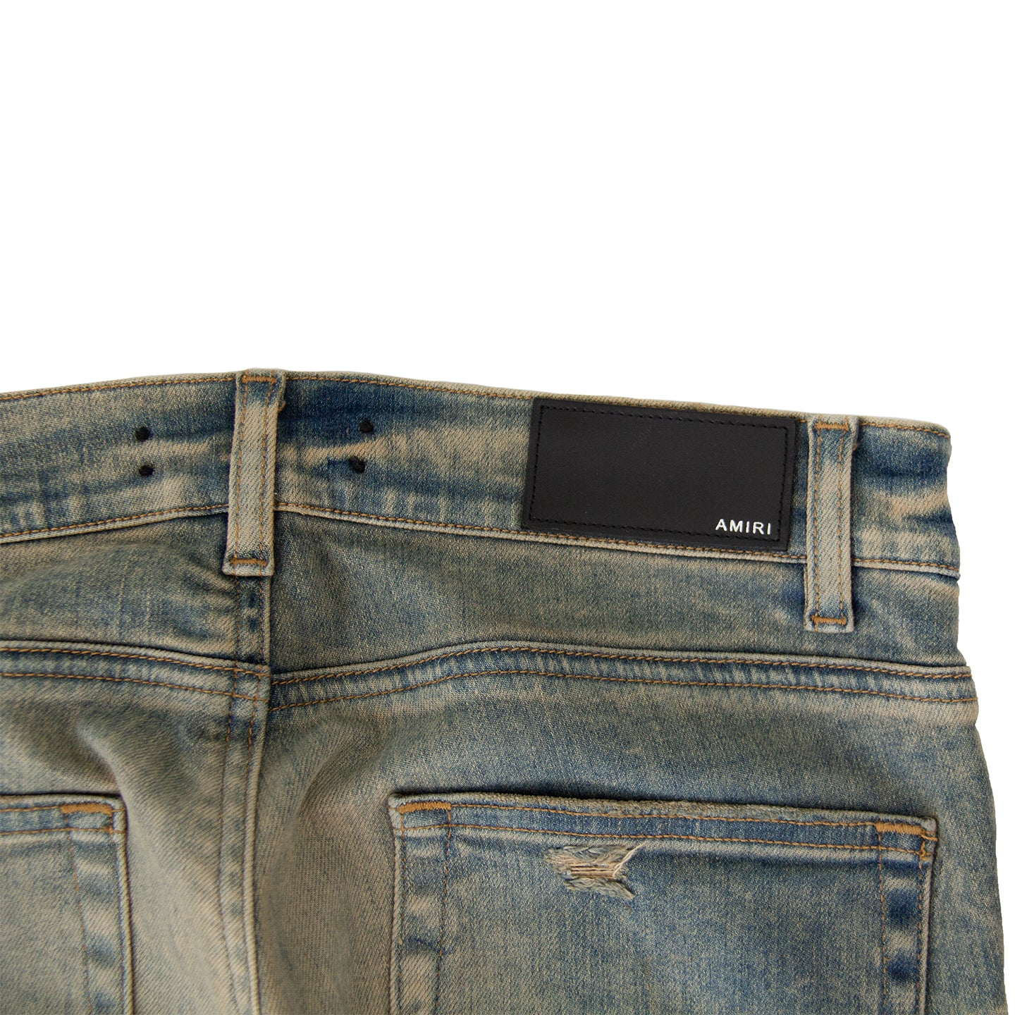 AMIRI DISTRESSED SKINNY DENIM