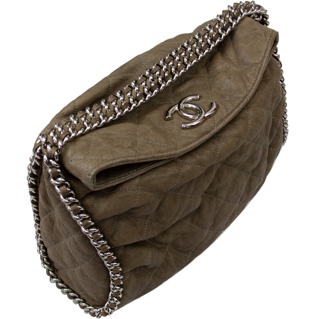 CHANEL CHAIN AROUND HOBO