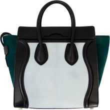 Load image into Gallery viewer, CÉLINE TRI-COLOR PONY HAIR LUGGAGE BAG