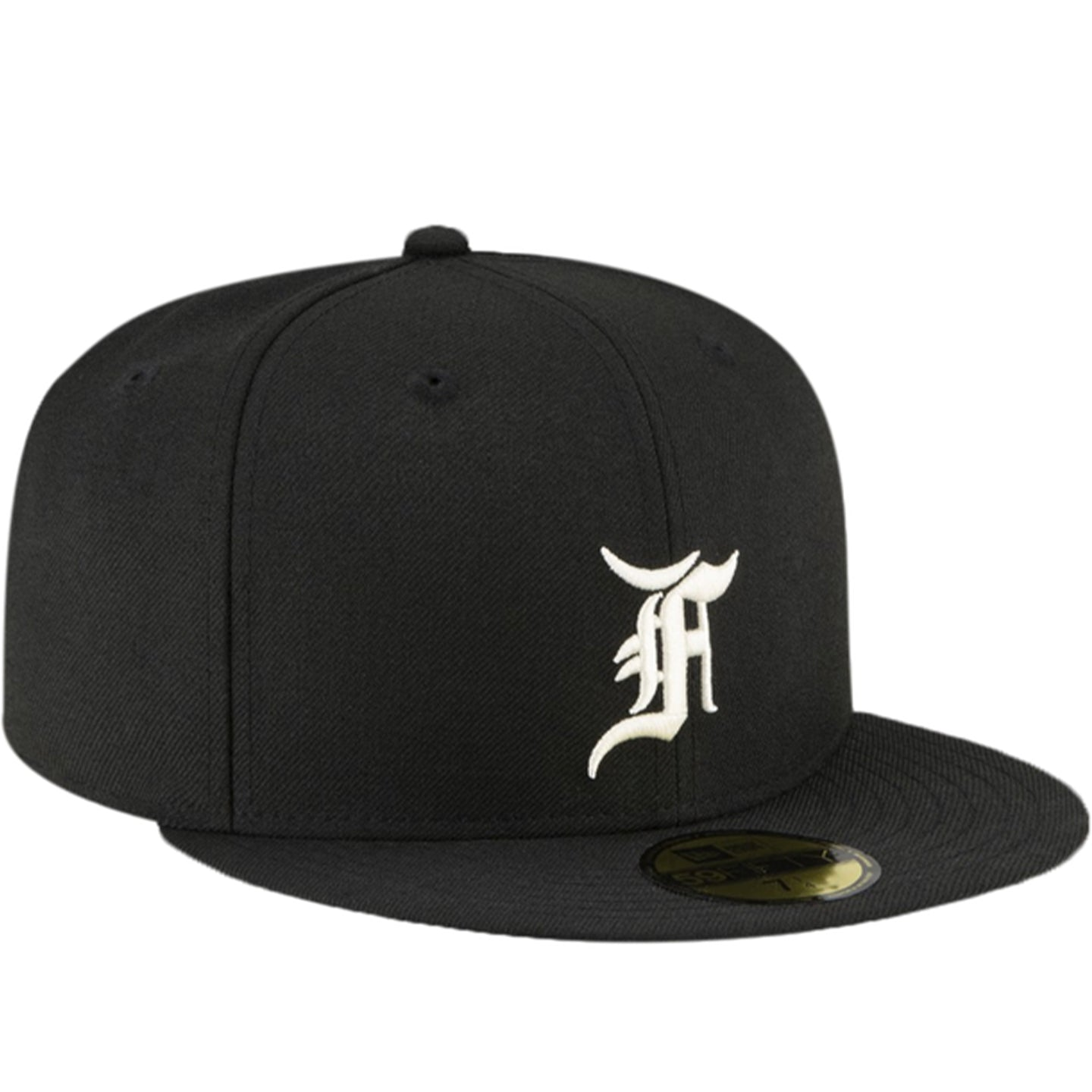 FEAR OF GOD ESSENTIALS NEW ERA FITTED BLACK
