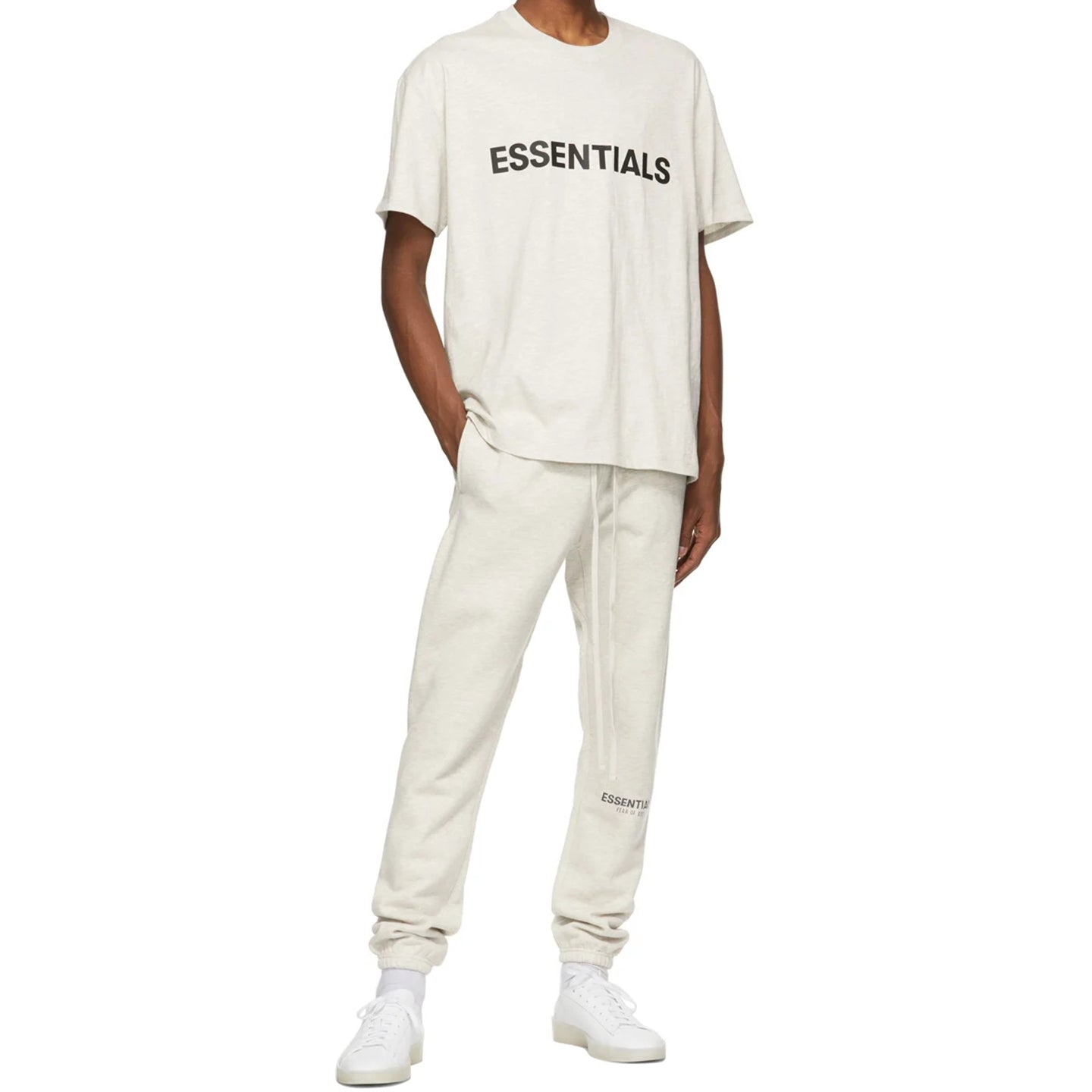 FEAR OF GOD ESSENTIALS SWEATPANT OATMEAL