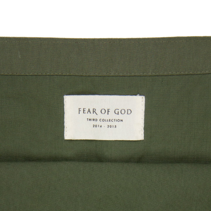 FEAR OF GOD 3RD COLLECTION MILITARY TOTE BAG