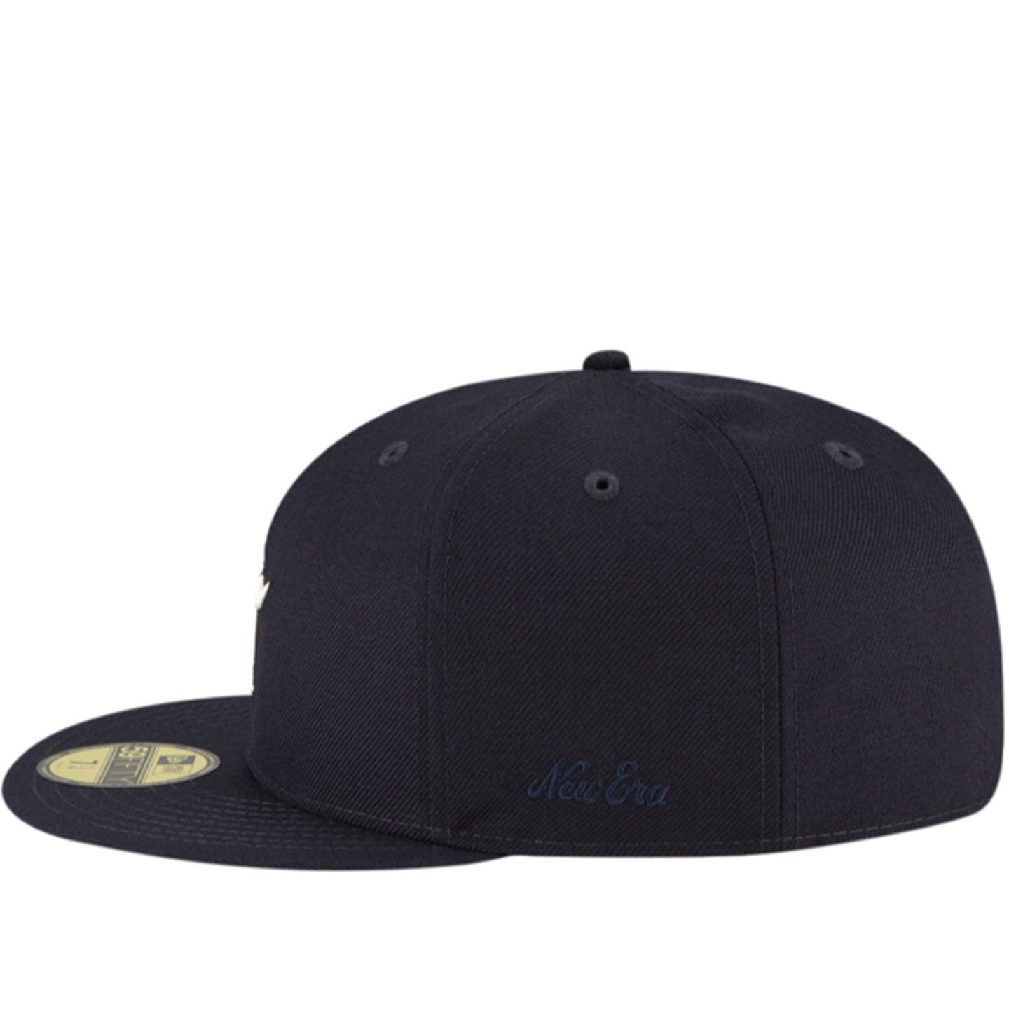 FEAR OF GOD ESSENTIALS NEW ERA FITTED NAVY