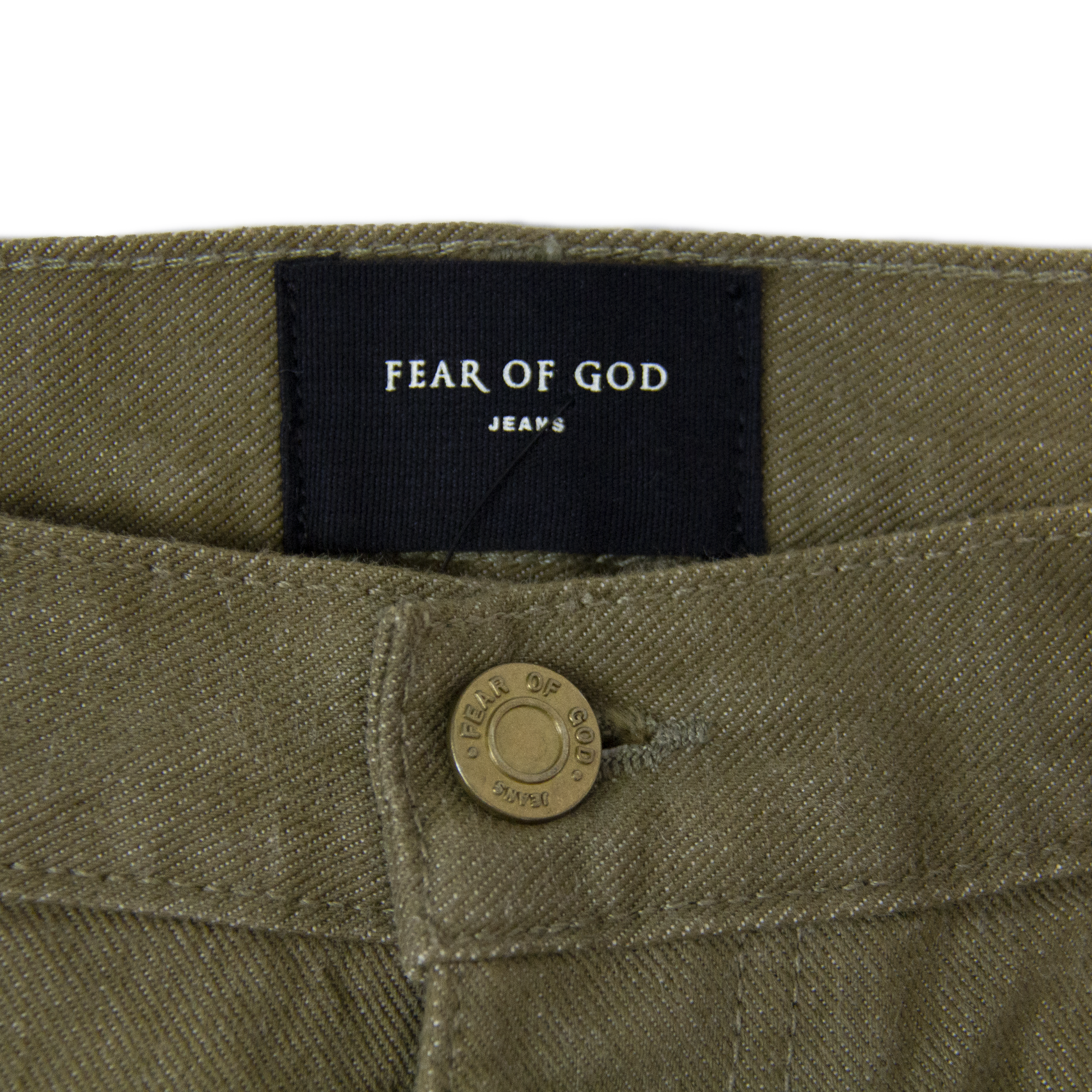 FEAR OF GOD 5TH COLLECTION TREATED DENIM