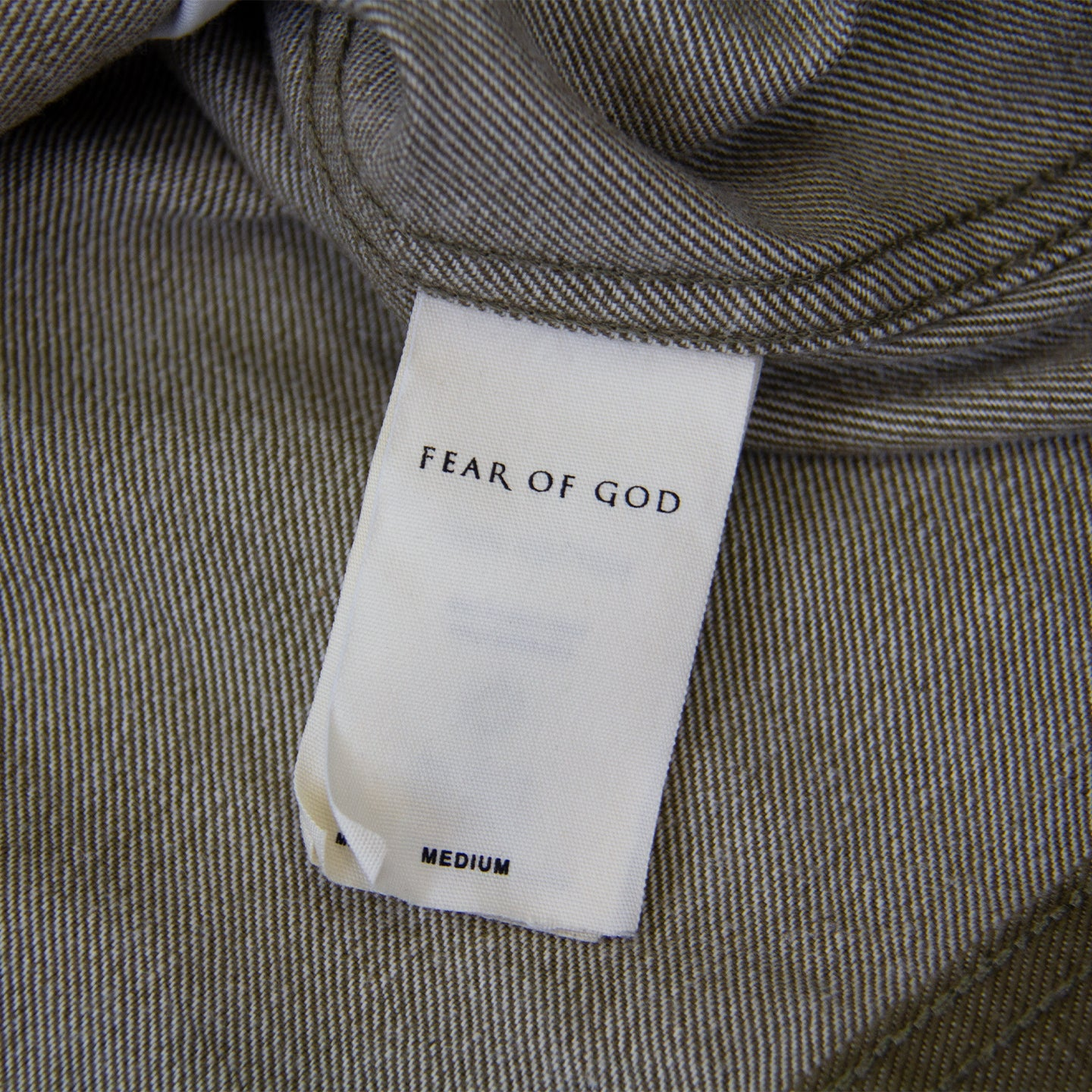 FEAR OF GOD 5TH COLLECTION TREATED DENIM JACKET