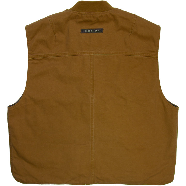 FEAR OF GOD 6TH COLLECTION CANVAS WORK VEST