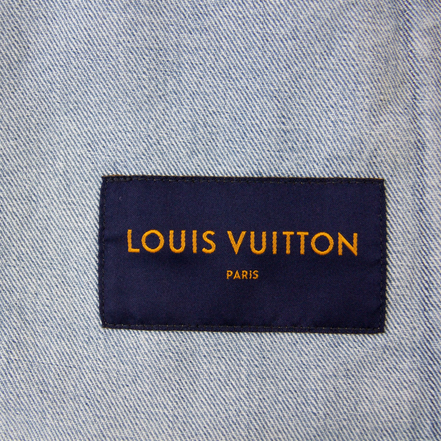 LOUIS VUITTON STAPLES EDITION DNA DENIM JACKET