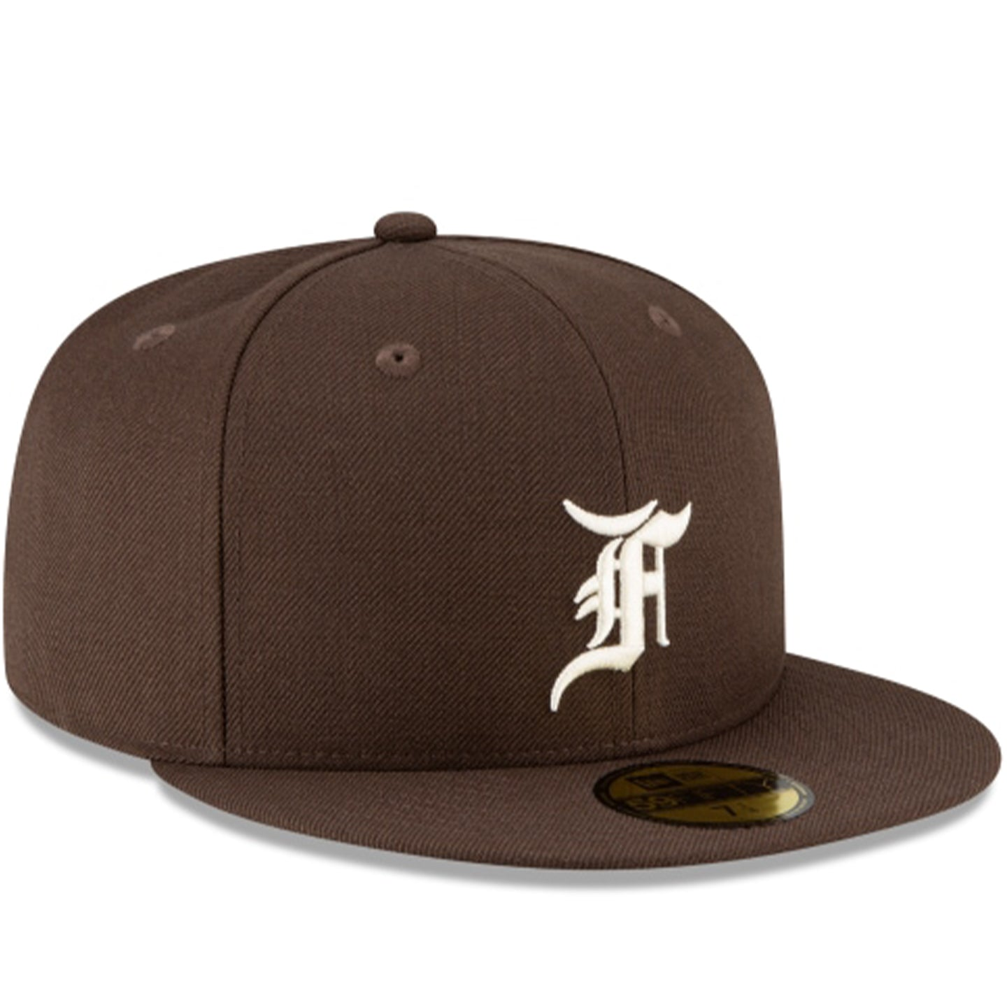 FEAR OF GOD ESSENTIALS NEW ERA FITTED WALNUT