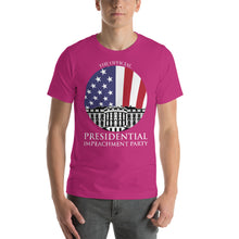 """The Official Presidential Impeachment Party"" Short-Sleeve Unisex T-Shirt"