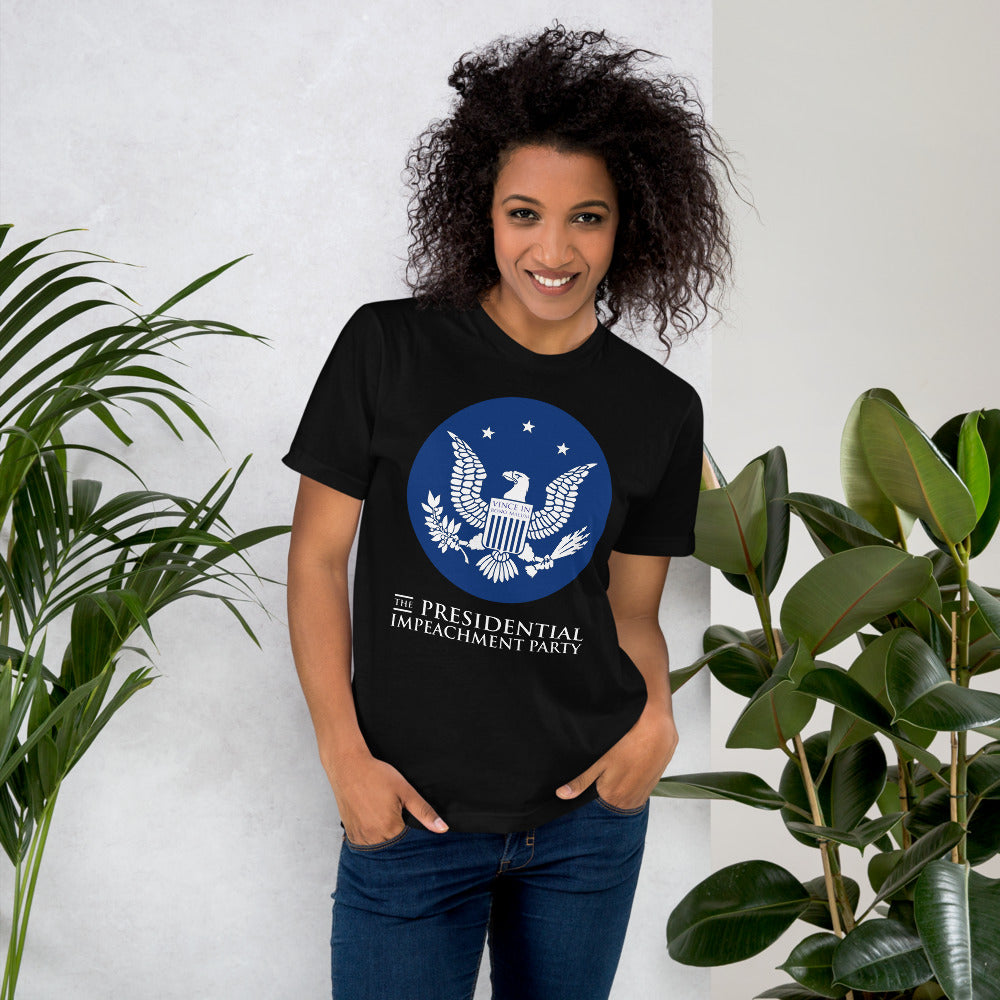 """The Presidential Impeachment Party"" T-Shirt"
