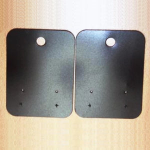 Earring Tags Black Last of Stock