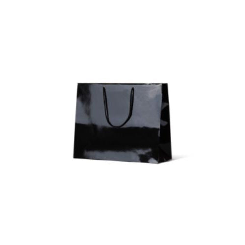 Black Medium Boutique Maddison Gloss Paper Bag 330 mm x 405 mm