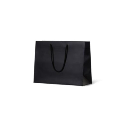 Black Medium Boutique Matte Paper Bag 330 mm x 405 mm