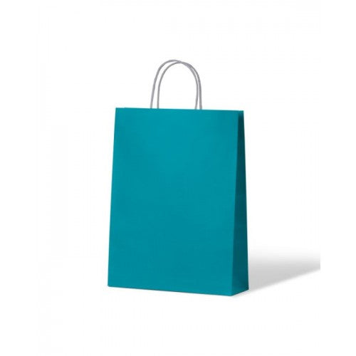 Blue Small Paper Carry Bags
