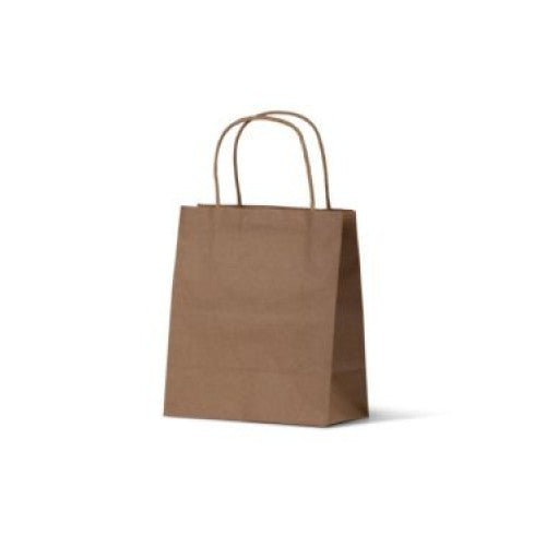 Brown Kraft Baby Paper Carry Bags