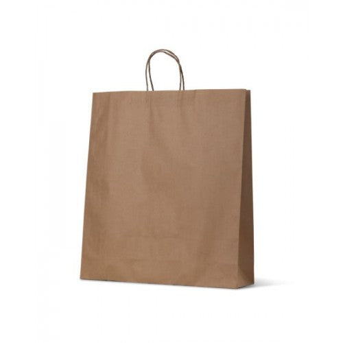Brown Kraft Extra Large Paper Carry Bags