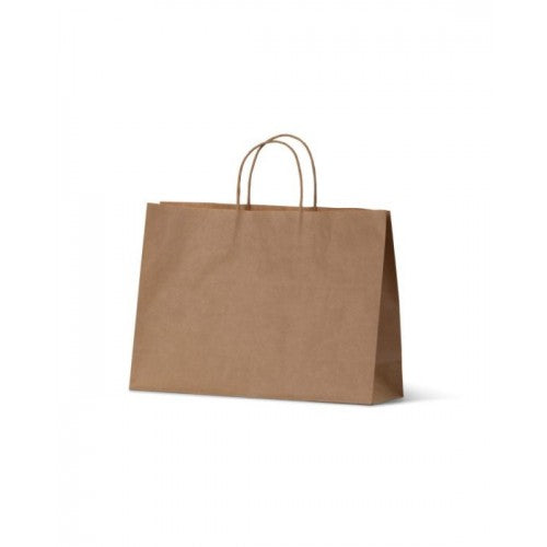 Brown Kraft Extra Small Boutique Paper Carry Bags