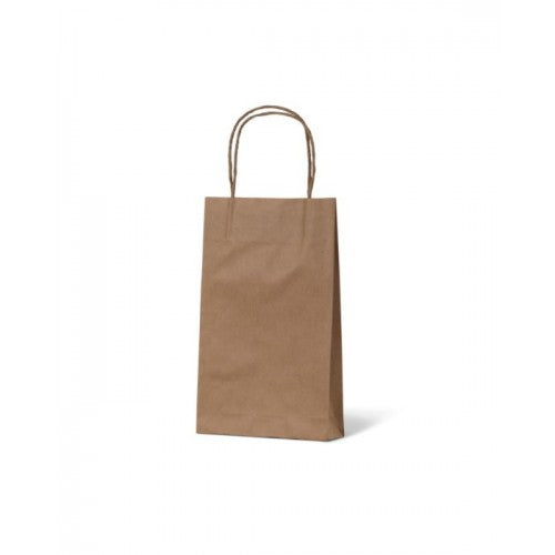 Brown Kraft Extra Small Paper Carry Bags