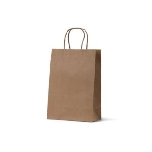 Brown Kraft Junior Paper Carry Bags