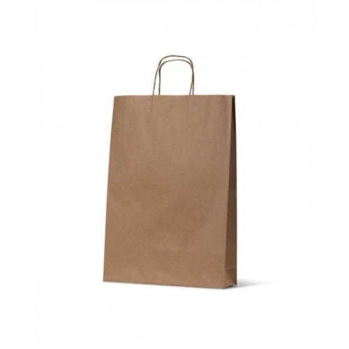 Brown Kraft Medium Paper Carry Bags