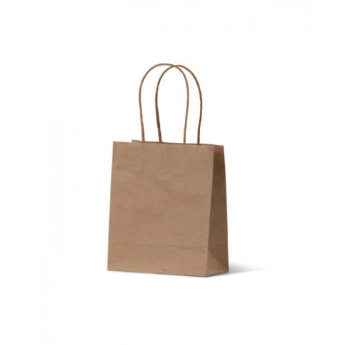 Brown Kraft Runt Paper Carry Bags (formally Petite)
