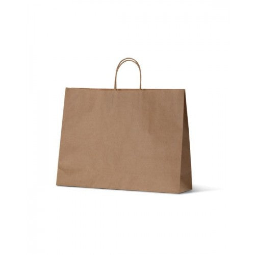 Brown Kraft Small Boutique Paper Carry Bags